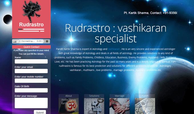 Astrologer website